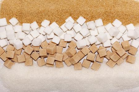 sugar cubes brown and white450x299